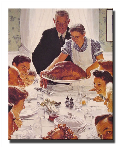 Freedom from Want, Norman Rockwell