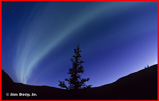 Northern Lights, Alaska. Photo copyright Jim Doty Jr